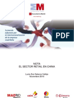 El sector del retail en China