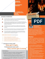 Advanced Certificate in Field Incident Command 19 - 21 March 2012 Jakarta, Indonesia