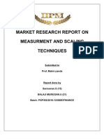 Market Research Report On