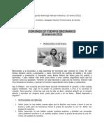 Guía Litúrgica 2º DOMINGO T.O. (B)