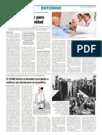 Mirar al paciente para humanizar la sanidad (Diario Médico)