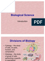 Biological Science- Intro