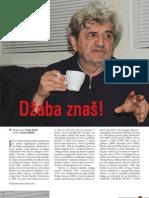 Džaba znaš! (Marko Vešović, pjesnik - intervju u Svjetlu riječi)