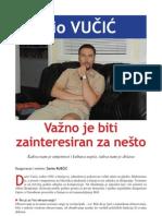 Važno je biti zainteresiran za nešto (Dario Vučić, dirigent - intervju u Svjetlu riječi)