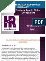 My PPT(Global Human Resource)