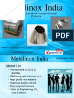 Metalinox Incone Maharashtra India