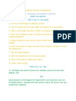 DBMS Question Paper
