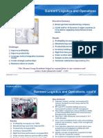 Garment Logistics and Operations