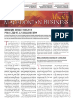 Macedonian Business Monthly 112-2011
