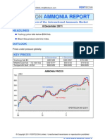 FERTECON Latest Ammonia Market Report