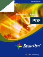 Recurdyn Solver - Theoretical Manual