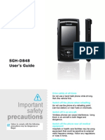 Samsung D848