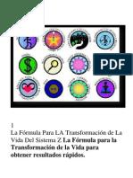 La Formula Para La Trans for Mac Ion de La Vida