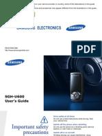 Samsung U600