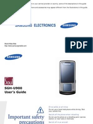 SUITE SAMSUNG SGH-U900 TÉLÉCHARGER PC
