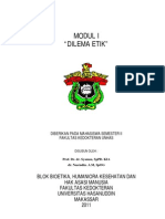 Modul Mahasiswa Sistem Bioetika I 2011