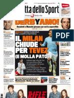 Gazzetta dello Sport - 12/01/2012