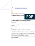 Basic Java Interview Questions 3