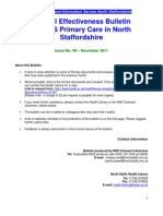 Clinical Effectiveness Bulletin no. 58 November 2011