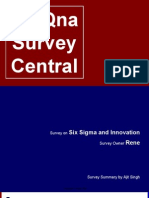 6 Sigma Survey