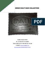Katalog Produk Kulit Daih Collection