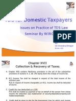 Seminar on TDS
