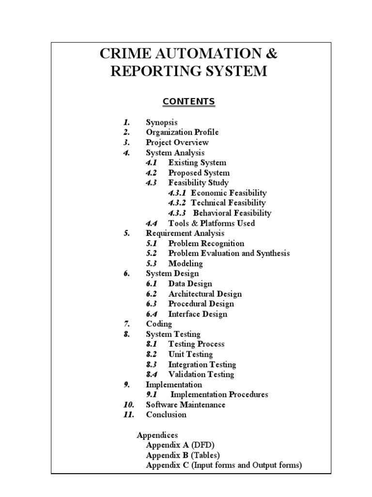 Crime Records Management System a ASP net Project | Microsoft Sql