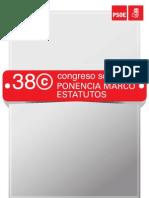 38º Congreso Socialista. Ponencia Marco