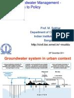 29_Water Sector Gov_Sekhar Muddu