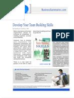 Develop Your Team Building Skills