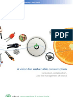 A Vision for Sustainable Consumption
