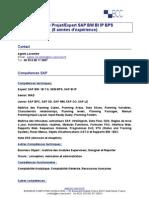 Chef de Projet Expert SAP BW BIIP BPS