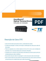 Caixa Terminal Optica Preconectorizada OTE
