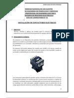 GUÍA DE LABORATORIO N01 instalacion de contactores electricos