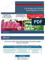 Gut Biology and Probiotic Microorganisms in Food - Patent and Technology Report - Key Players, Innovators and Industry Analysis