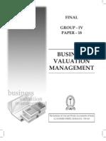 Business Valuation Management