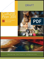 Madison Cultural Plan 2011