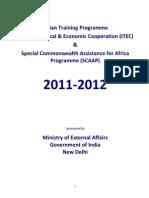 ITEC Brochure 2011-12