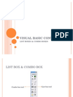 listbox,combobox,Visual basic 6.0