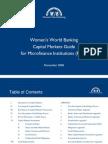 10 WWB Capital Markets Guide for Mfi e