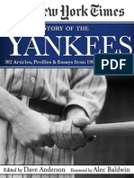 The New York Times STORY OF THE YANKEES Sampler