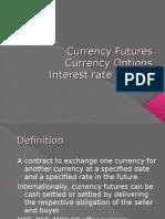 Currency Fut,IRFs, CO