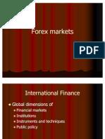 Forex Mkts if 2011