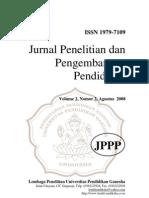 Jurnal Penelitian Dan an Pendidikan