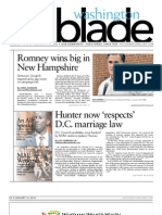 washingtonblade.com - volume 43, issue 2 - january 13, 2012