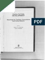 Facilitating Development Book