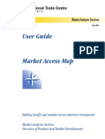 user guide market access map