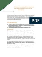 ESPECIFICAÇÕES TÉCNICAS PARA EXECUÇÃO DO PROJETO DE ÁUDIO E VÍDEO DO AUDITÓRIO DO PALÁCIO DAS DE VESPASIANO