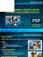 Space Planning Critical Design Features in Healthcare Projects