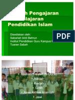 Kaedah Pengajaran Pembelajaran Pendidikan Islam